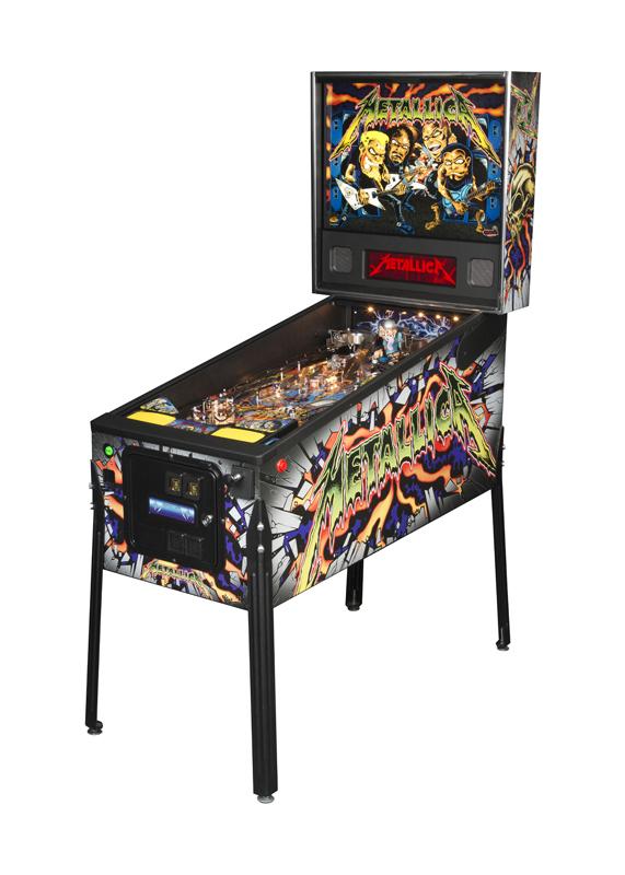 metallica pro pinball machine