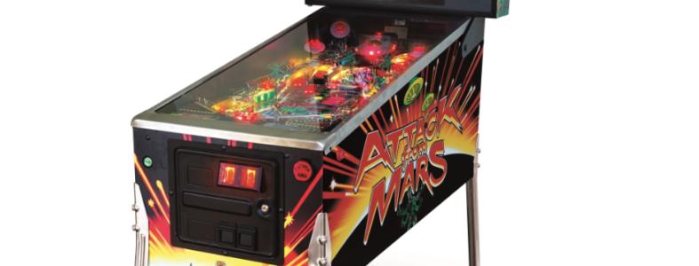 Attack From Mars Classic Edition Pinball Machine