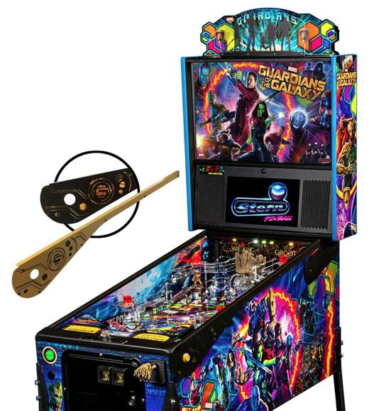 Guardians of the Galaxy Pinball Machine Topper Stern