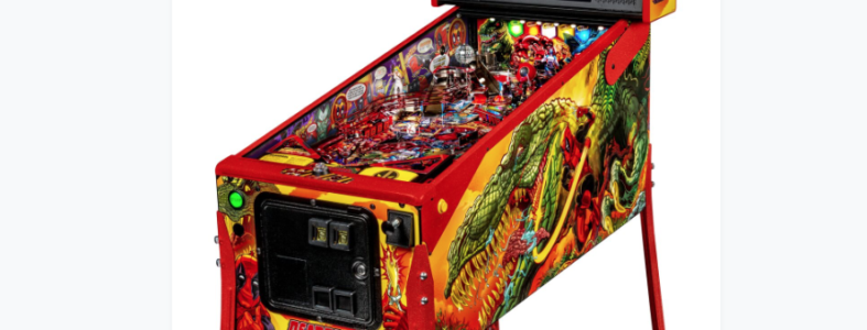 Deadpool Limited Edition Stern Pinball Machine