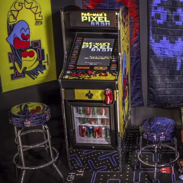 Pac Man Pixel Bash Chill Home Upright Game Namco