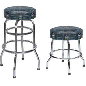 pac man swivel stool