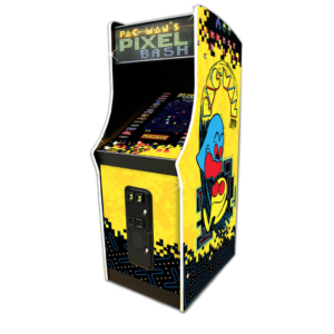 pac man pixel bash
