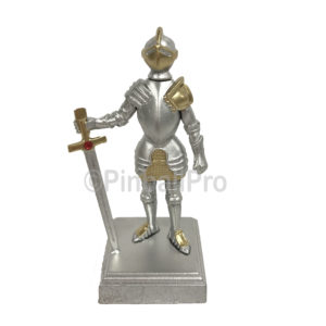 Addams Family gold knight