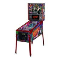 elvira le pinball machine