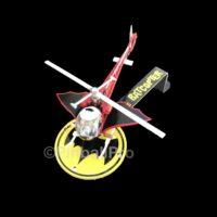 lighted batman 66 batcopter