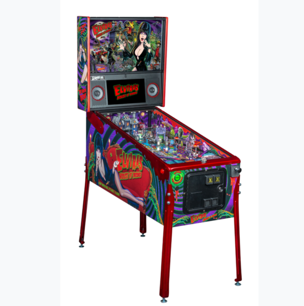 le elvira house of horrors pinball