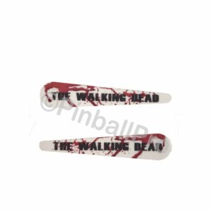 walking dead flipper decals