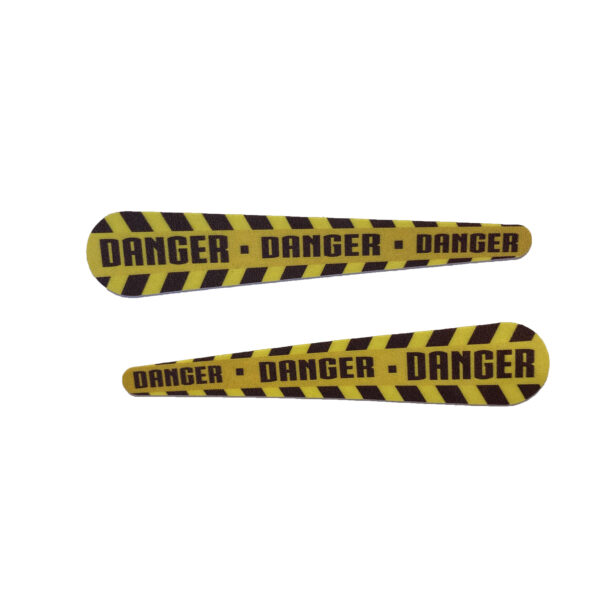 danger caution tape flippers