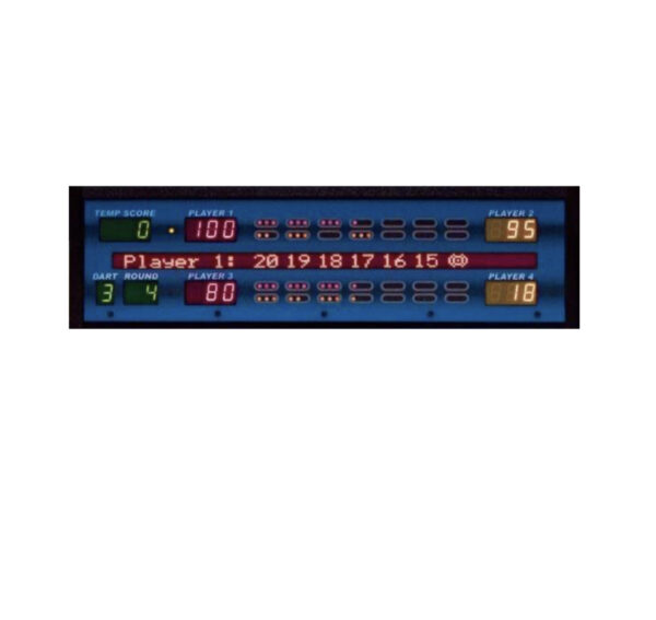 dart board scoring