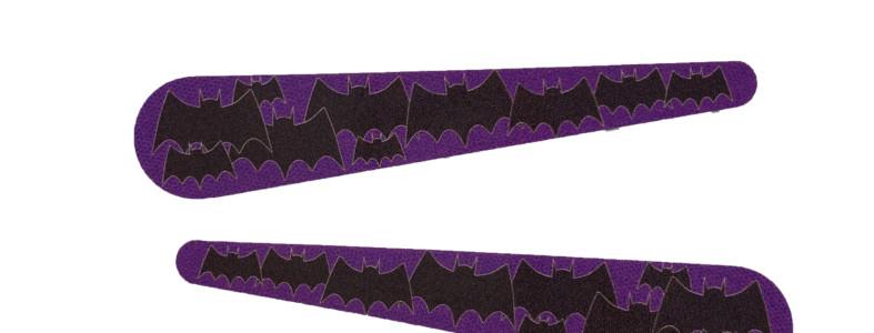 purple batman flipper toppers