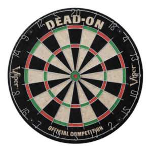 viper dead on bristle dartboard