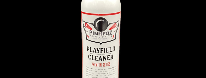 pinhedz playfield cleaner