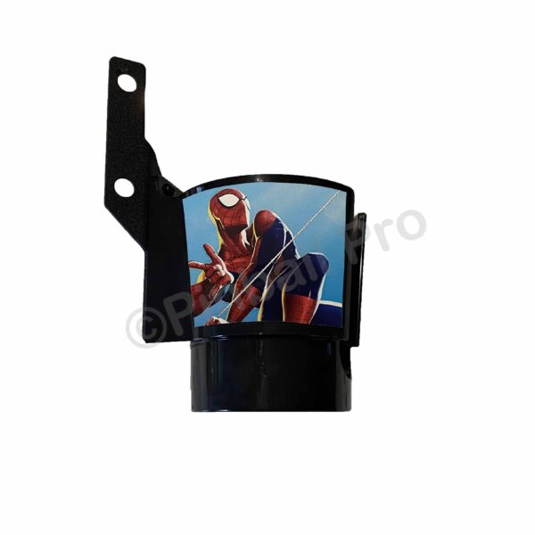 spiderman comic cup decal